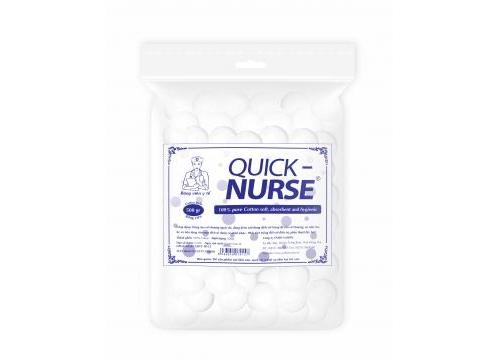 Bông viên y tế Quick-nurse Ø2cm - 500gr