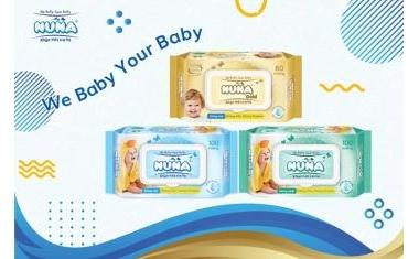 Không chỉ là khăn giấy ướt, Nuna còn là người bạn đáng tin cậy của mọi bà mẹ