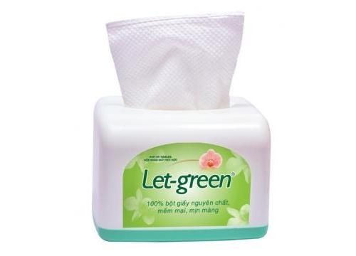 Hộp  để  bàn  giấy  vệ  sinh đa năng Let-green